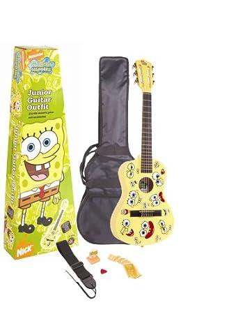 Bob Esponja sbjgoft Junior guitarra Outfit: Amazon.es: Instrumentos musicales