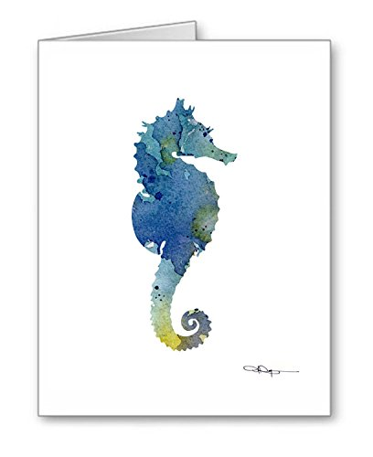 (Seahorse - Set of 10 Note Cards With Envelopes)