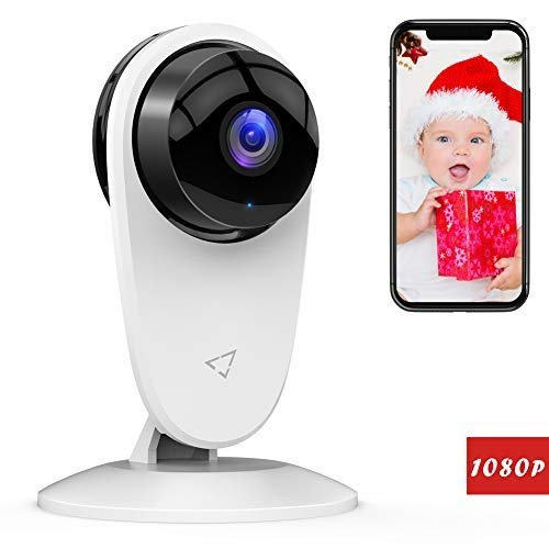 [Updated] Victure Baby Monitor 1080P FHD Home WiFi Security Camera  Sound/Motion Detection with Night Vision 2-Way Audio Cloud Service  Available