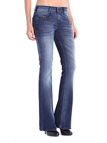 Vaquero Slim LOUVBOOT Mujer Jeans 834T Azul para Diesel Bootcut YqBPx5v
