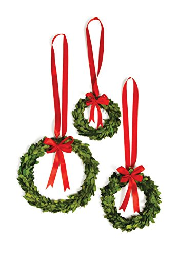 Exposures Boxwood Ornament (1.25' Ribbon)