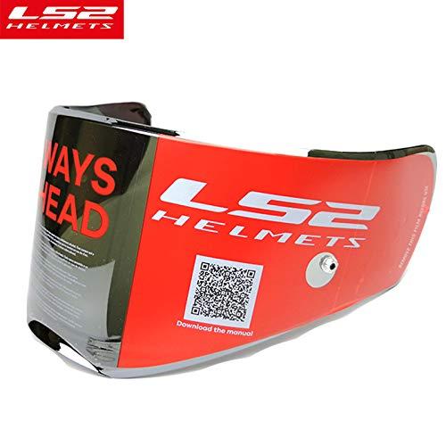 LS2 Anti-Scratch FF390 Breaker Motorcycle Helmet Visor Face Shield (Silver) by LS2 Helmets (Image #4)