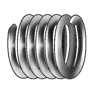 304 Stainless Steel Helical Insert,304SS,4-40,PK100, A1185-04CN224