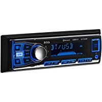 BOSS (611UAB) Audio Single-Din Mech-Less Multimedia Player (no CD/DVD) - Bluetooth enabled