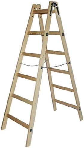Ice Wolf® Doble Niveles Escalera escalera pintor Electricistas Escalera escalera escalera escalera de madera Varios Tamaños: Amazon.es: Bricolaje y herramientas