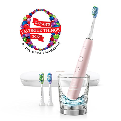 Philips Sonicare DiamondClean Smart Electric, Rechargeable toothbrush for Complete Oral Care – 9300 Series, Pink, HX9903/21 by Philips Sonicare (Image #2)