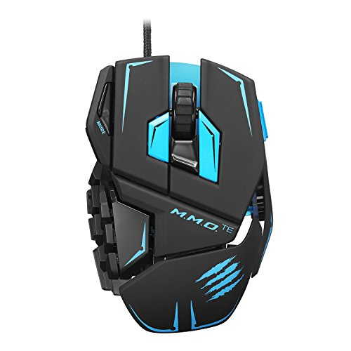 Mad Catz M.M.O.TE Tournament Edition Gaming Mouse for PC -Matte Black (Mad Catz Gaming)