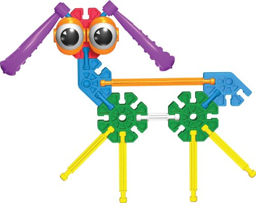 414DrRTS%2B6L - K'NEX Education - Kid K'NEX Group Building Set - 131 Pieces - Ages 3+ - Preschool Educational Toy