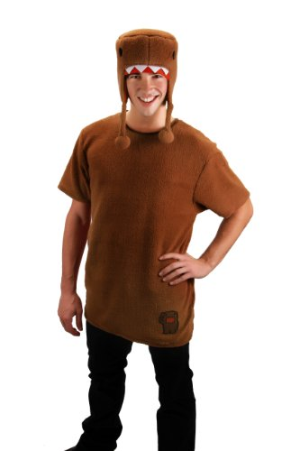 elope Domo Shirt With Hat Costume, Brown, Small/Medium -