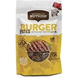 Rachael Ray Nutrish Burger Bites Dog Treats, Beef Burger With Bison Recipe, 12 Oz.