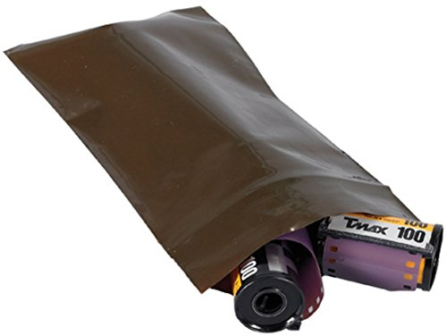 "Bauxko 3"" x 5"" Reclosable Amber UV Bags, 3 Mil, Case of 1..."