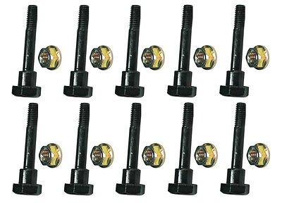 The ROP Shop (10) Shear PINS & Bolts fits Honda HS1132 HS50 HS55 HS624 HS70 Push Snowblowers by The ROP Shop
