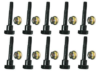 The ROP Shop (10) Shear PINS & Bolts fits Honda HS1132 HS50 HS55 HS624 HS70 Push Snowblowers by The ROP Shop