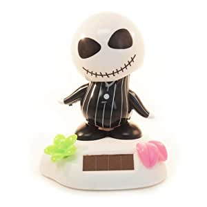 Solar Bobblehead Toy Figure - Tropical Skull