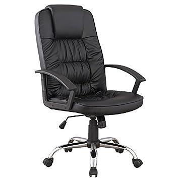 Bureau De Fauteuil En Simili Chaise Noir Mobilier Deco rWxedBQCo