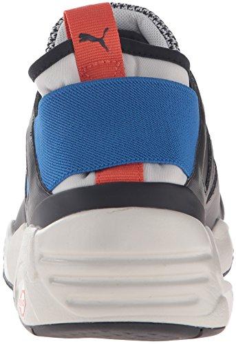 PUMA Herren B.O.G Sock Tech Cross-Trainer Schuh Gletscher Grau-Puma Blau