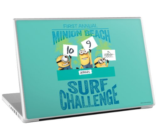 Zing Revolution MS-DMT90010 Despicable Me 2 - Surf Challenge Laptop Cover Skin for 13 Inch Mac and PC