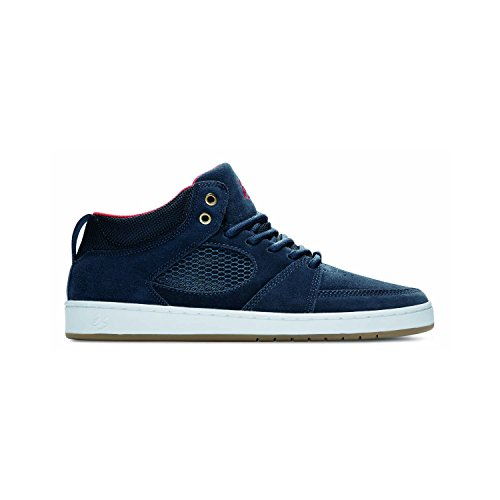 ES Skateboard Shoes ACCEL SLIM MID NAVY Size 10.5