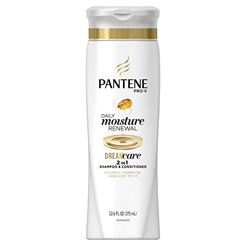 Pantene Pro-V 2 in 1 Shampoo & Conditioner, Daily Moisture Renewal, 12.6 Ounce Renewal 2in 1 Shampoo Conditioner