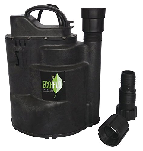 ECO-FLO Products SUP59 Automatic Submersible Utility Pump, 1