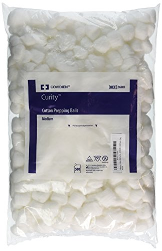 Kendall/Covidien Prepping Cotton Ball, 500 Count (Ball The Cotton)