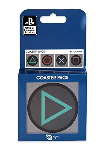 Playstation 4-pc Coasters Set