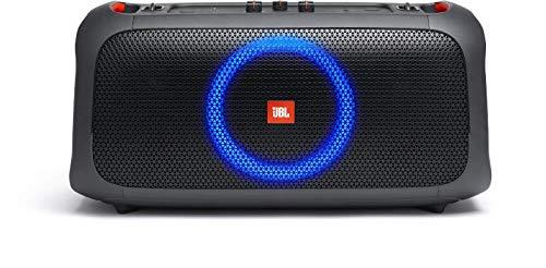 JBL Partybox On-The-Go - Altavoz portátil Bluetooth con sonido potente JBL para tus fiestas, con un show de luces y…