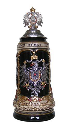 German Beer Stein cities 1 liter tankard, beer mug ZO 1424/9009 by Zöller & Born (Image #3)