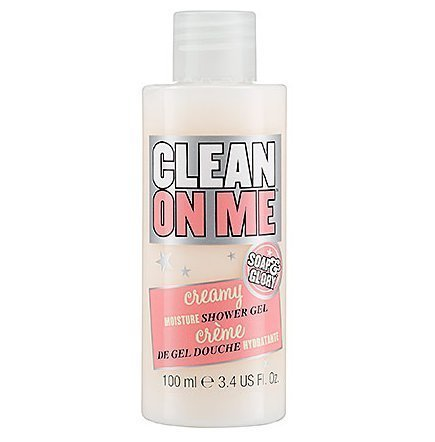Soap & Glory Clean On Me Creamy Moisture Shower Gel 3.4 ounce