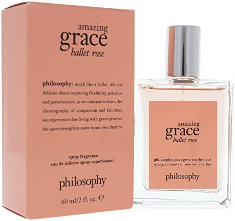 Amazing Grace Ballet Rose Eau de Toilette, 2 Fl Oz