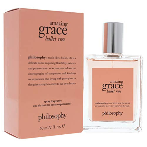 Amazing Grace Ballet Rose Eau de Toilette, 2 Fl Oz,Pack of 1