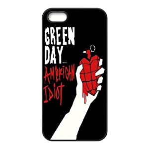 High Quality {YUXUAN-LARA CASE}Green Day Music Band For Apple Iphone 5 5S STYLE-9