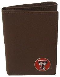 Danbury Men's Texas Tech Trifold Wallet, Black, One Size
