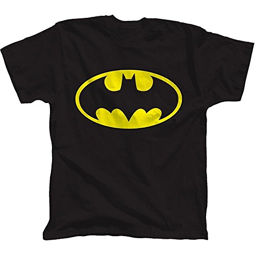 Batman Products : Batman Glow Ink Classic Logo Youth T-Shirt
