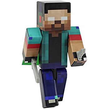 EnderToys Herobrine Boy Action Figure Toy 4 Inch Custom Series Figurines Not An Official Minecraft Product