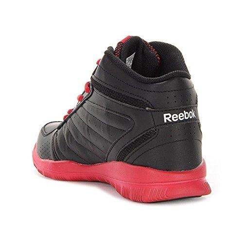 Reebok - Clean Shot - M44096 - Couleur: Blanc-Noir-Rouge - Pointure: 36.5