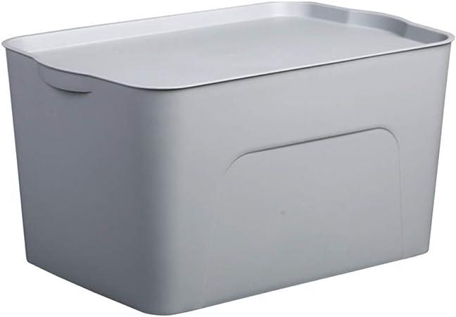 LCSHAN Caja de Almacenamiento de Resina de plástico Cesta de Almacenamiento Caja de Almacenamiento de Resina plástica Hogar con Tapa Caja de Almacenamiento de Juguetes para niños: Amazon.es: Hogar