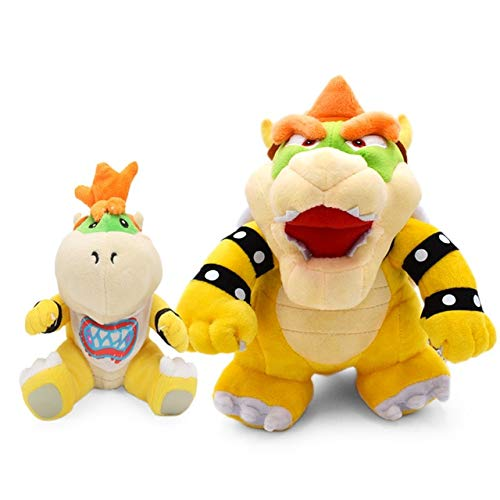 LAJKS Rio Plush Toys 18-24Cm Bowser Jr Koopa Bowser Dragon Plush Doll Brothers Soft Plush New Must Haves Friendship Gifts The Favourite Anime Superhero Classroom Unboxes by LAJKS