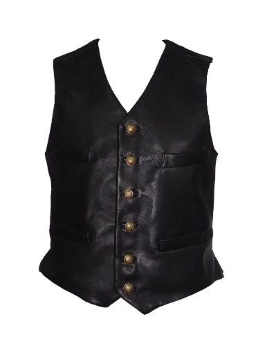 g and Tall SIZE PREMIUM Soft Lambskin Leather Vest (Mens Lambskin Leather Vest)