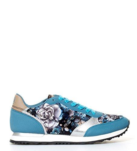 Mustang - Zapatillas Dore azul, estampado floral - 69800 - Talla 41: Amazon.es: Zapatos y complementos