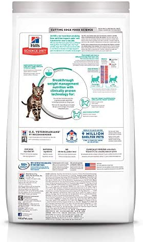 Hill's science diet perfect weight alimento para gatos adultos 2