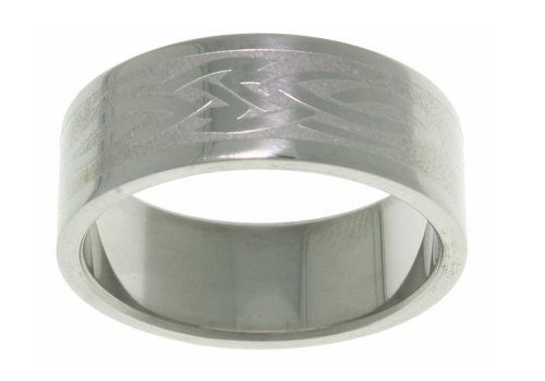 Men's Celtic Tribal Knot Stainless Steel Ring Whole Sizes 5 - 15