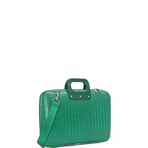bombata-gold-cocco-15-inch-laptop-case-emerald-green