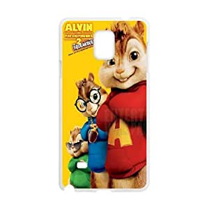 Samsung Galaxy S4 Cell Phone Case White Alvin and the Chipmunks NF9448021