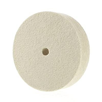 Premium 100% Organic Wool Felt Polishing Buffing Wheel