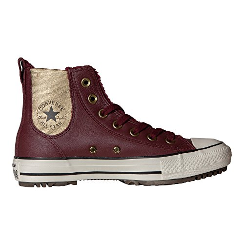 Converse Girls' Boat Shoes Multi-Coloured Bordeaux/Black/Egret Size : 6 UK bKI5c0