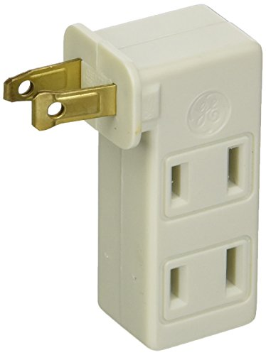 GE Lighting 67498 3-Way Polarized Outlet - Converting 2 Prong Outlet 3 Prong