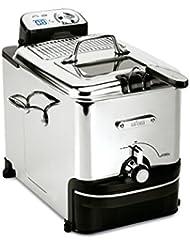 All-Clad 7211002979 EJ814051 3.5 L Easy Clean Pro Deep-Fryer, Silver, 3.5-Liter