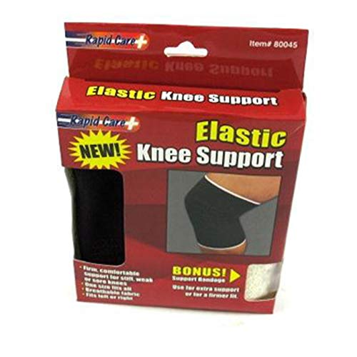 ((Pack of 24) Rapid Care Support Bandage Elastic, Knee Support)