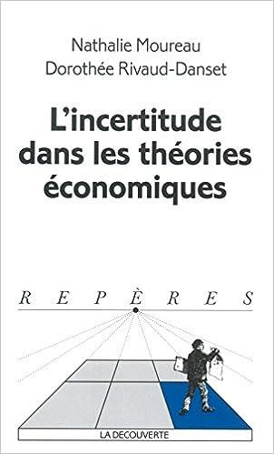 En ligne téléchargement L'Incertitude dans les théories économiques epub, pdf